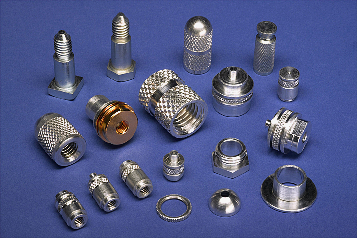 Screw Machined Over-Molding Inserts