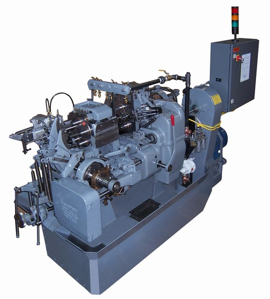 Davenport Multi Spindle Screw Machine produces high volumes of parts